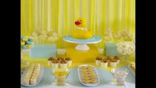 BABY SHOWER DE  PATITOS MAS DE 10 IDEAS DE DECORACION PRECIOSAS