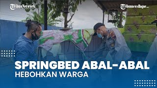 Viral Tempat Usaha Springbed Abal-abal yang Hebohkan Warga, Penjual Dibebaskan Polisi