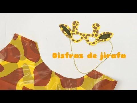 Bolsas de disfraces | Diy fácil para hacer tu disfraz de jirafa