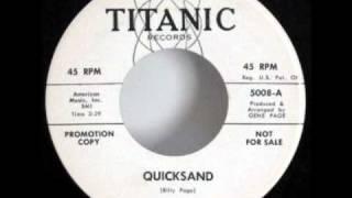 "Kell Osborne ""Quicksand"" Northern Soul 45"