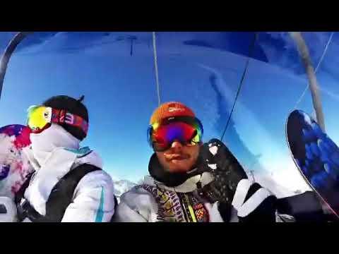 Домбай 2017 кчр GoPro 5 session