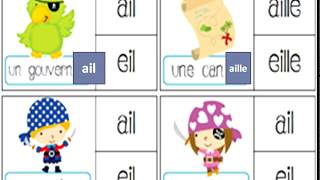 Lecture Les Sons Ail/aille , Eille /eill , Ill , Ouill          تعلم اللغة الفرنسية