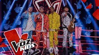Piso 21 Sings Te Vi - Battles The Voice Kids Colombia 2019