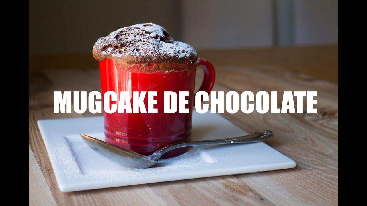 Mug Cake de chocolate grabado con Gopro