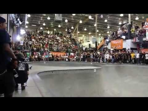 Heimana Reynolds talks about his slam at the Vans Pool Party 2014