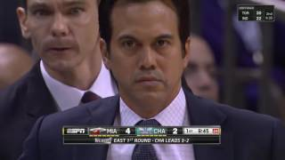 NBA Playoffs 2016 EAST 29042016 R1 G6 Miami Heat vs Charlotte Hornets HD 720p ENG