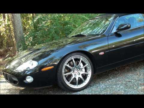 "1 0f 500 Jaguar XKR 100 Convertible 20"" Montreal wheels For Sale VALEUROSPORT LLC"