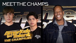 Mike Yung and Junior Creative Want To Perform For The WORLD! - America's Got Talent: The Champions thumbnail