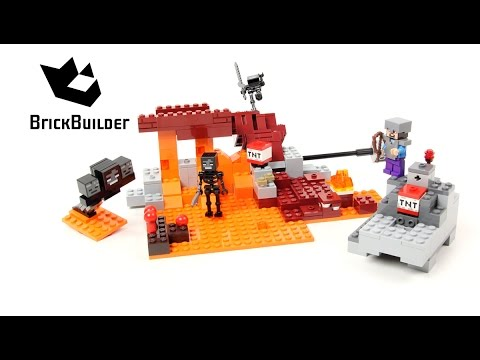 Vidéo LEGO Minecraft 21126 : Le Wither