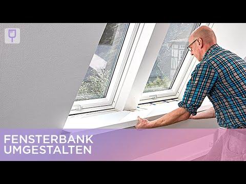 Fensterbank umgestalten | Renovieren mit Elmar