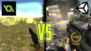 Building an FPS Game with Unity vs Game Maker Studio 2