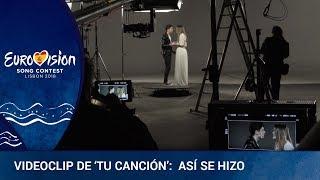 """Así es el Making off del videoclip """"Tu Canción"""" de Alfred y Amaya (Eurovisión 2018) grabado en el pl"""