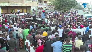 DP Ruto promises residents of Dandora better roads, sewer system and