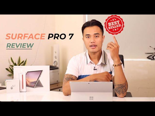 Surface Pro 7 - Máy tính bảng bán chạy nhất thị trường