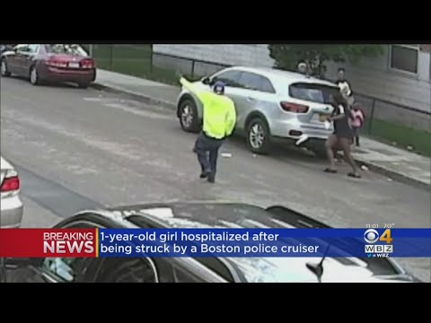 Girl Hospitalized After Being Hit By Boston Police Cruiser