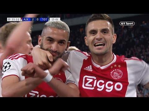 Hakim Ziyech vs Tottenham (Goal) 08/05/2019 | HD 1080p