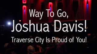 Joshua Davis on NBC's The Voice at The State Theatre in Traverse City