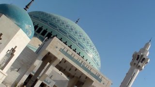 preview picture of video '(1175)The King Abdullah I Mosque  1 in Amman, Jordan 1'