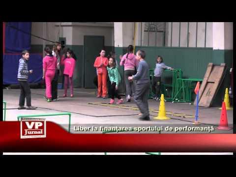 Liber la finanțarea sportului de performanță