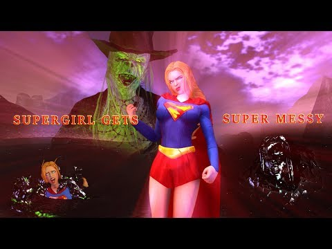 Supergirl Gets Super Messy