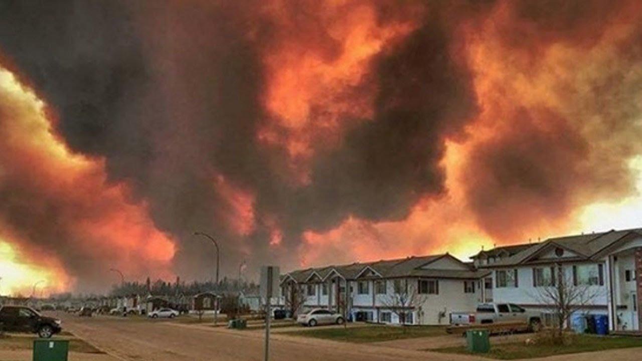 Thousands Flee Devastating Wildfires (VIDEO) thumbnail