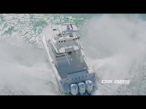 Pursuit OS 385 Offshore video