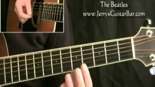 The Beatles All I've Got To Do - That Amazing First Chord!