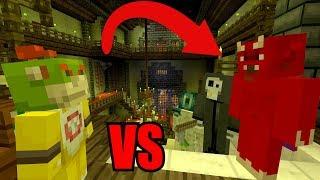 Bowser Jr VS The Devil! [EVIL!]   Nintendo Fun House   Minecraft Switch [248]