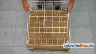 Dishwasher Lower Dishrack Assembly (Part #WD28X10284) - How To Replace