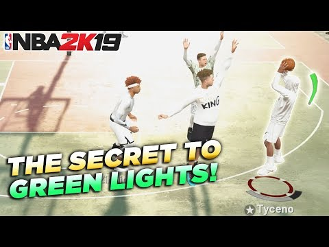 The SECRET to Getting GREEN LIGHTS in NBA2K19!