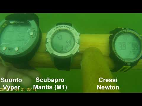 Suunto Vyper vs. Scubapro Mantis M1 vs. Cressi Newton