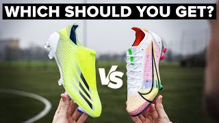 VAPOR 14 vs X GHOSTED+ | Speed Boot Battle