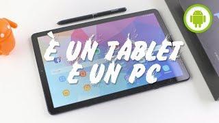 RECENSIONE SAMSUNG GALAXY TAB S4: è un tablet e un PC