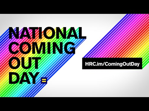 National Coming Out Day – October 11, 2016 | Lavender ...