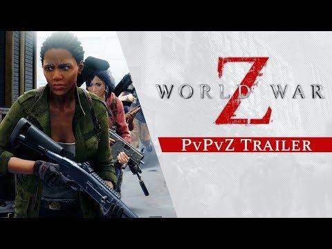 World war z   player vs player vs zombies