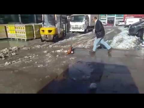 Karmatik Portatif Kar Kürüme Aracı, Portatif Kar Temizleme Arabası