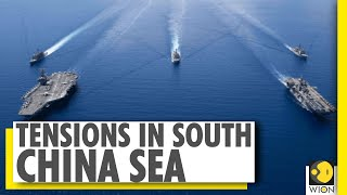 US navy sends two aircraft carriers to South China Sea | WION News - Download this Video in MP3, M4A, WEBM, MP4, 3GP