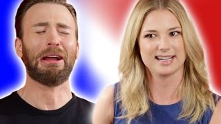 "Chris Evans & the ""Captain America: Civil War"" Cast Play ""Superhero Would You Rather?"""