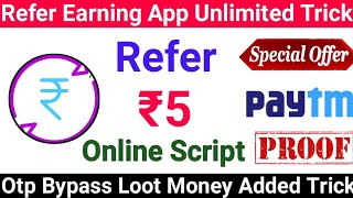 🔵Wheel Charge App Unlimited Trick Otp Bypass Trick | Best