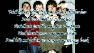Settle for a draw By The Arctic Monkeys (Lyrics)