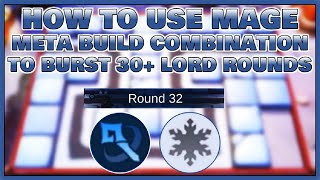 META MAGE SYNERGY COMBINATION | EASY LORD ROUNDS -CHESS-TD TIPS & GAMEPLAY | Mobile Legend Bang Bang