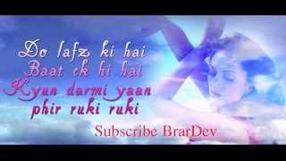 Har Kisi Ko Nahin Milta (KARAOKE) BOSS 2013 - YouTube