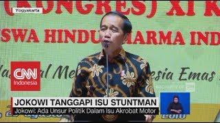 Jokowi Tanggapi Isu Stuntman & Goyang Dayung