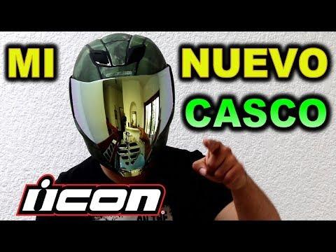 MI NUEVO CASCO ICON Airflite Battlescar 2 - BLITZ RIDER