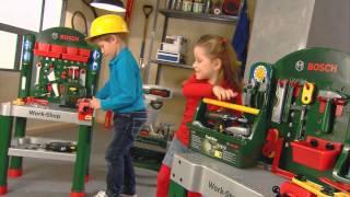 Vaikiškas didelis darbastalis su įrankiais | Bosch | Klein 8580