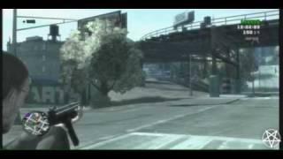 AK 47  GTA 4  Partida A Muerte Por Quipos Ganada