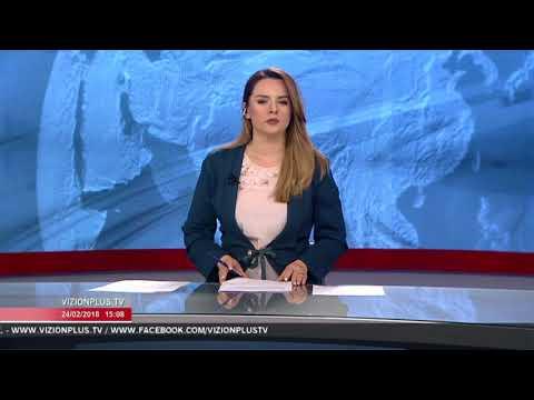 News Edition in Albanian Language - 24 Shkurt 2018 - 15:00 - News, Lajme - Vizion Plus