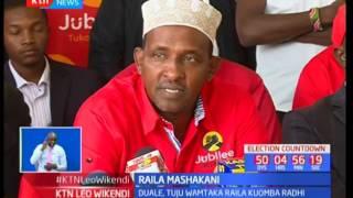 Raila Odinga mashakani: Duale, Tuju wamtaka Raila kuomba radhi