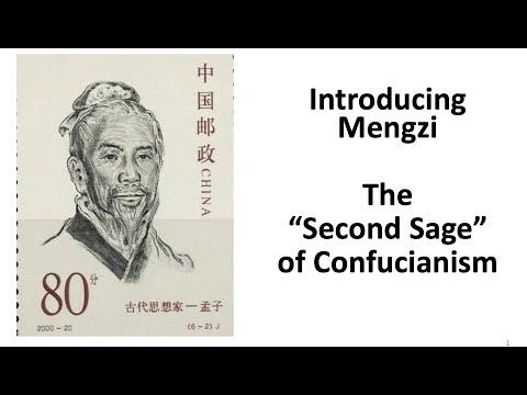 The Confucian Mengzi and His Context