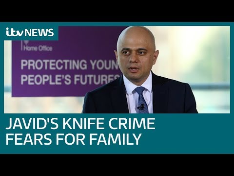 Javid: Knife crime surge left me fearing for my children's safety | ITV News